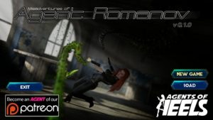 Agents of Heels – Misadventures of Agent Romanov - Version 0.1.0