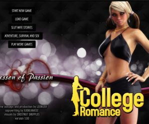 Lesson of Passion – College Romance