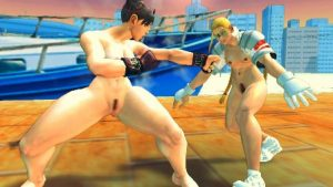 Ryona Street Fighter 4