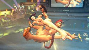 Ryona Street Fighter 4