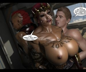 3D PORN COMIC JOOS3DART – FUCKING FINEST ASSES