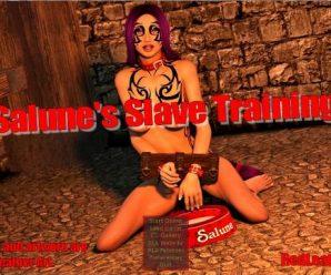 Salune's Slave Training v1.17  [Red Leather Art]