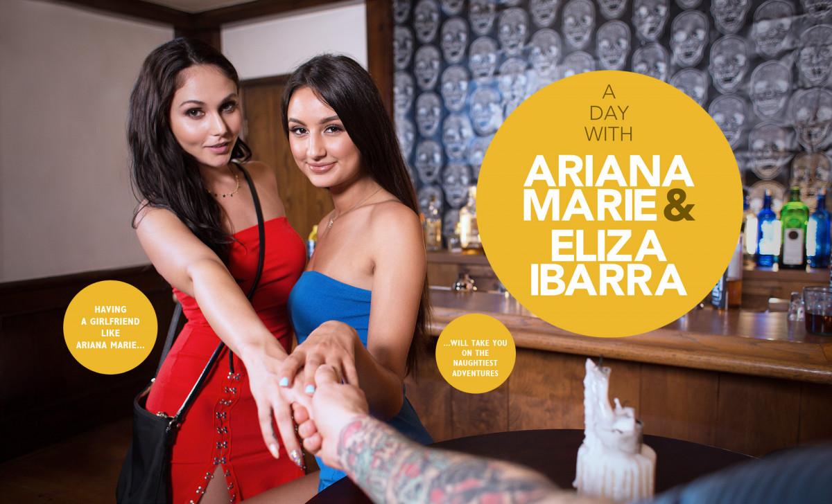 Ariana Marie Anal Threesome