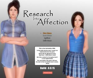 Research Into Affection Version 0.6.8